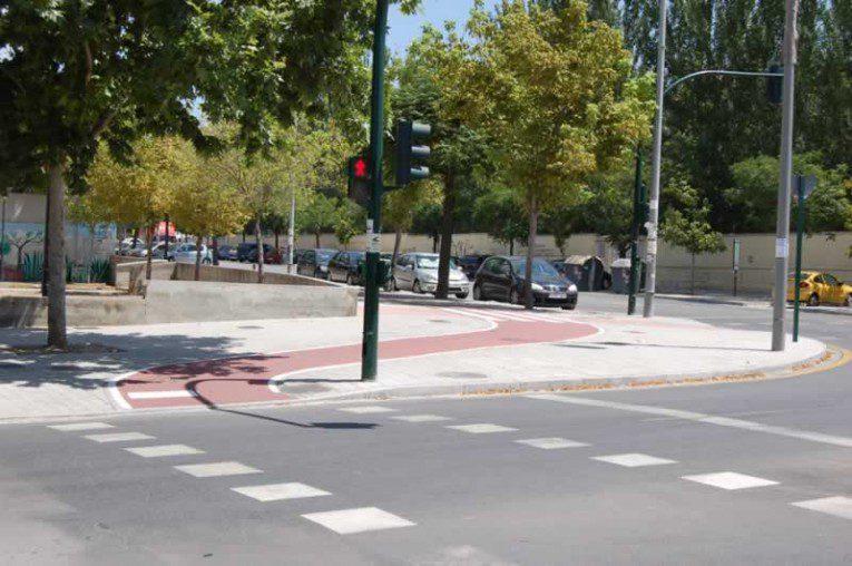 proyecto ejecución Carril de bici Gescom, en La Azulejera