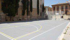 polideportiva colegio mayor, granada