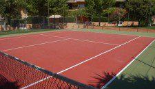 Jardines de Rolando, pistas rápidas de tenis