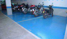 ejecución de pavimento parking nerja, málaga