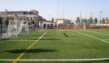 Ejecución de campo de fútbol de Churriana 03