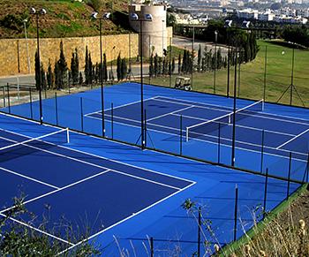 Construcción de pistas de tenis, solicite Presupuesto. Gescom