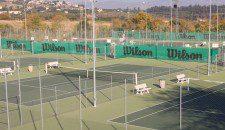 Pista de tenis en costa del sol