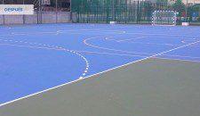 Rehabilitación de pistas deportivas en Granada